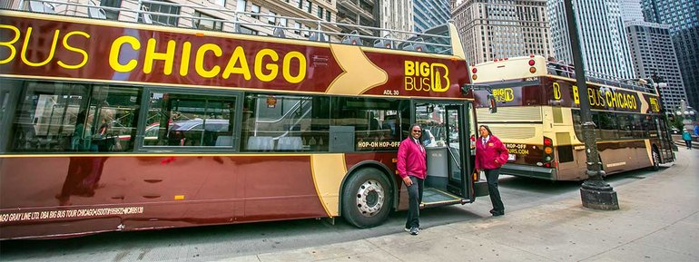 big bus sightseeing tours chicago attraction