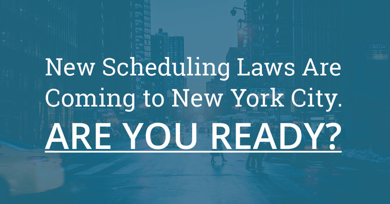 NYC Predictive Scheduling Laws BLOG