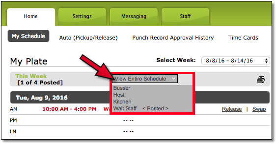 HotSchedules Hacks Manager