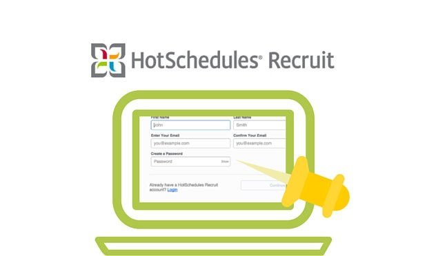 blog hotschedules recruit web app