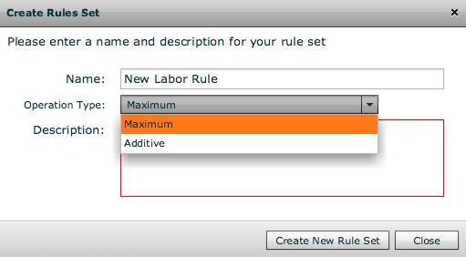 Additive Rule Sets