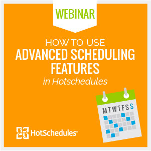Scheduling Features