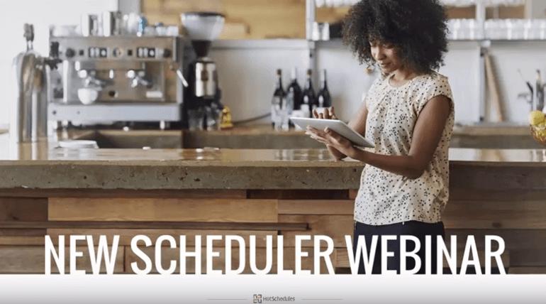 New Scheduler Webinar Image