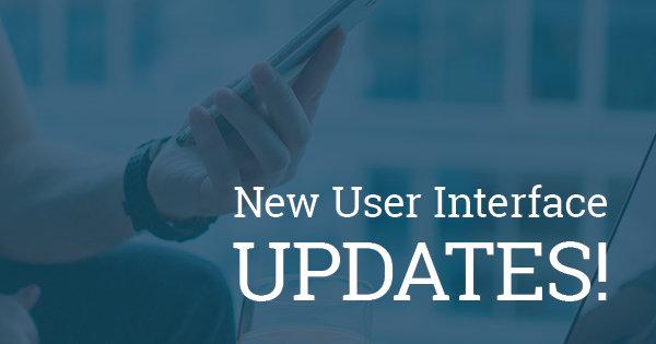 NewUser InterfaceUpdates BLOG