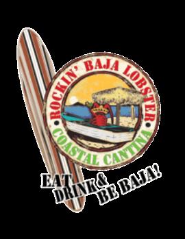 logo rockin Baja Lobster Coastal Cantina