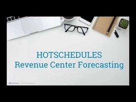 HotSchedules 2017 New Forecasting Features!